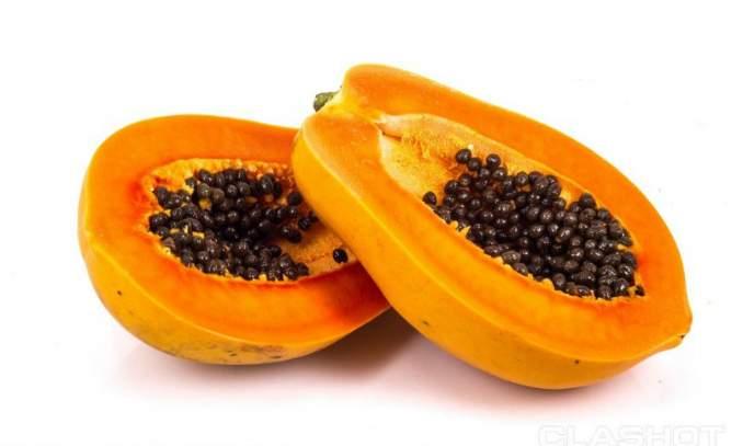 5 Receitas caseiras contra acne e espinhas - mamão papaya