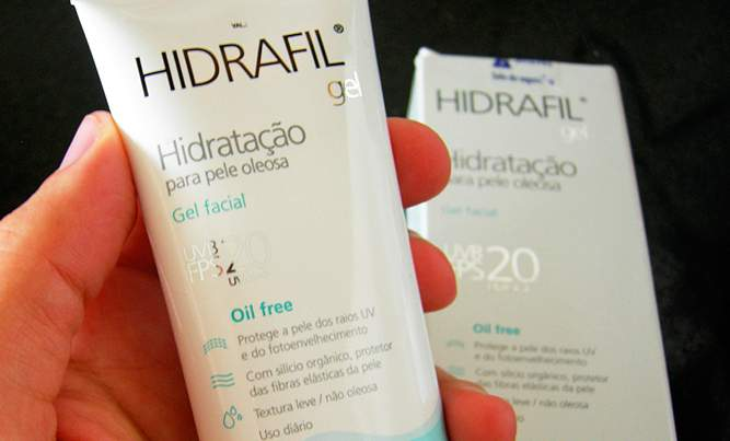 Resenha Hidrafil Gel Hidratante Facial Para Pele Oleosa
