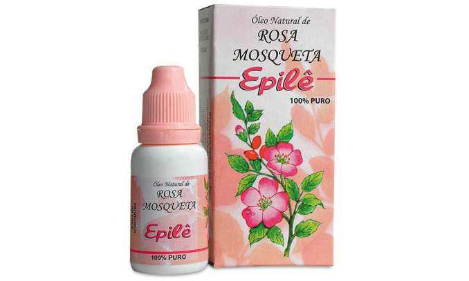 Óleo de Rosa mosqueta para remover manchas e cicatrizes de acne